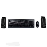 Genius KMS-U130 Mouse Keyboard and Speaker Pack