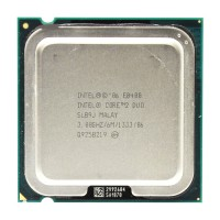CPU  Intel  Core E8400- Wolfdale
