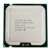 CPU Intel  Core 2 Q9550- Wolfdale