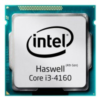 CPU Intel  Core i3-4160- Haswell