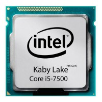 CPU Intel  Core i5-7500 -Kaby Lake