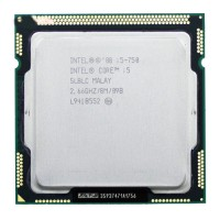 CPU Intel Core i5-760- Nehalem