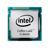 CPU Intel Core i5-8600K-Coffee Lake