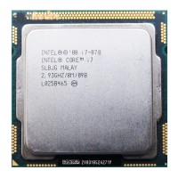 CPU Intel Core i7-870- Nehalem
