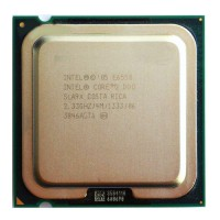 CPU Intel Core2  E6550- Conroe