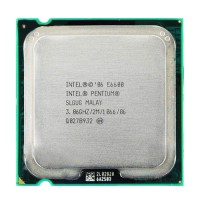 CPU Intel Core2  E6600- Wolfdale